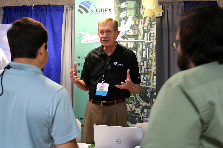 Surdex booth