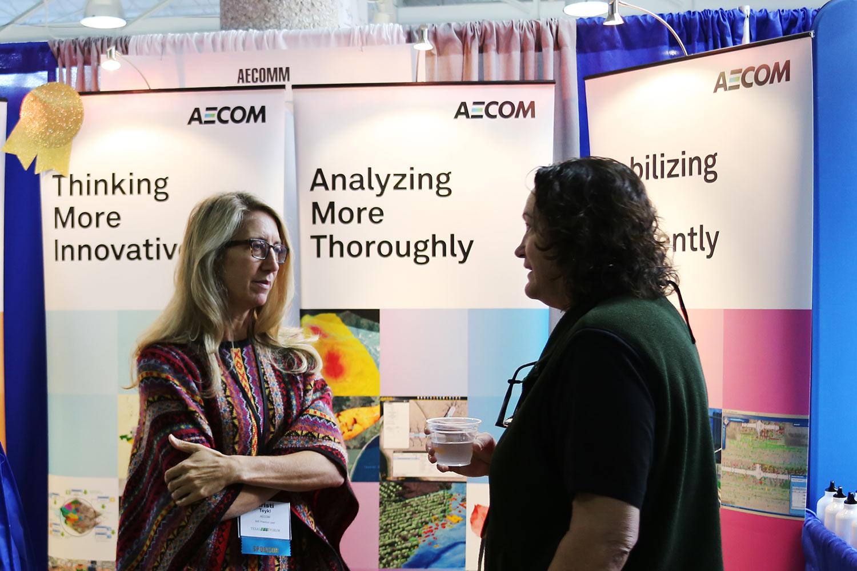 AECOM booth