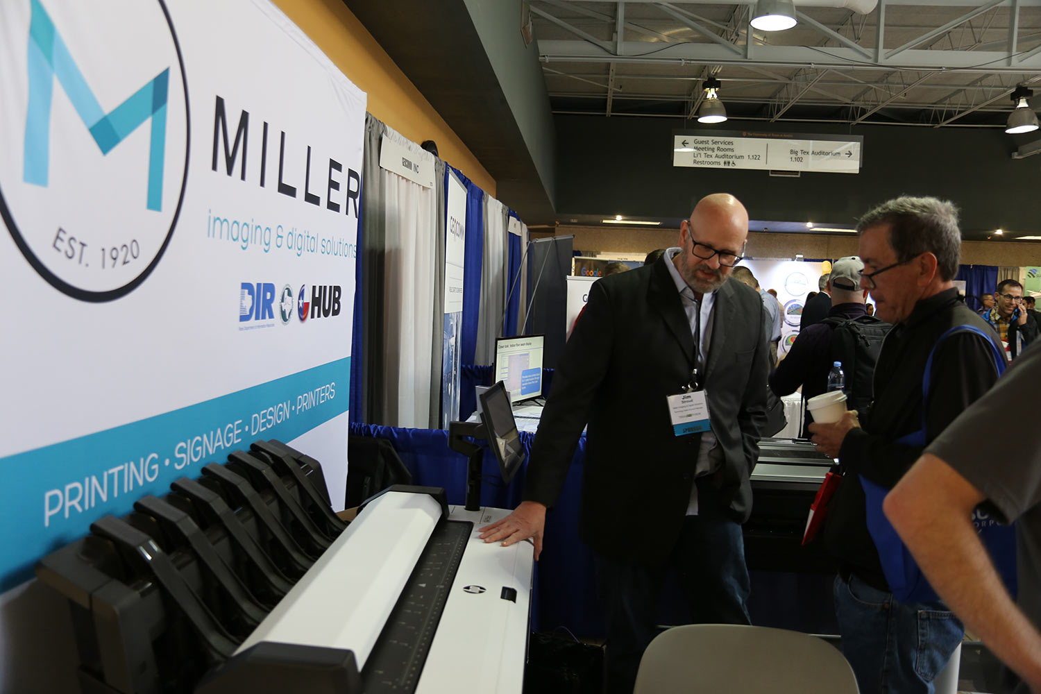 Miller booth