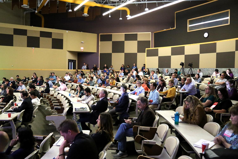 Big Tex Auditorium attendees