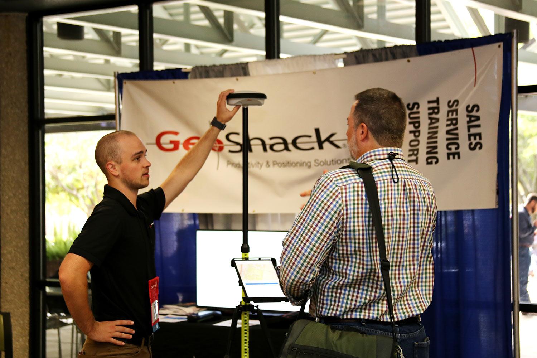 GeoShack booth