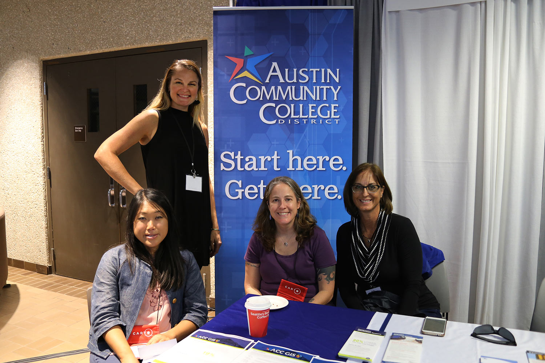 Austin Community College booth