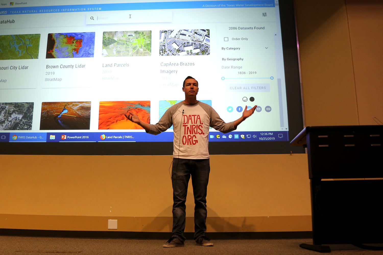 Adam speaking about DataHub