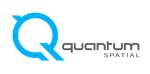 Logo and home page for Quantum Spatial