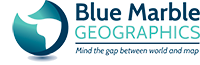 Blue Marble logo and link
