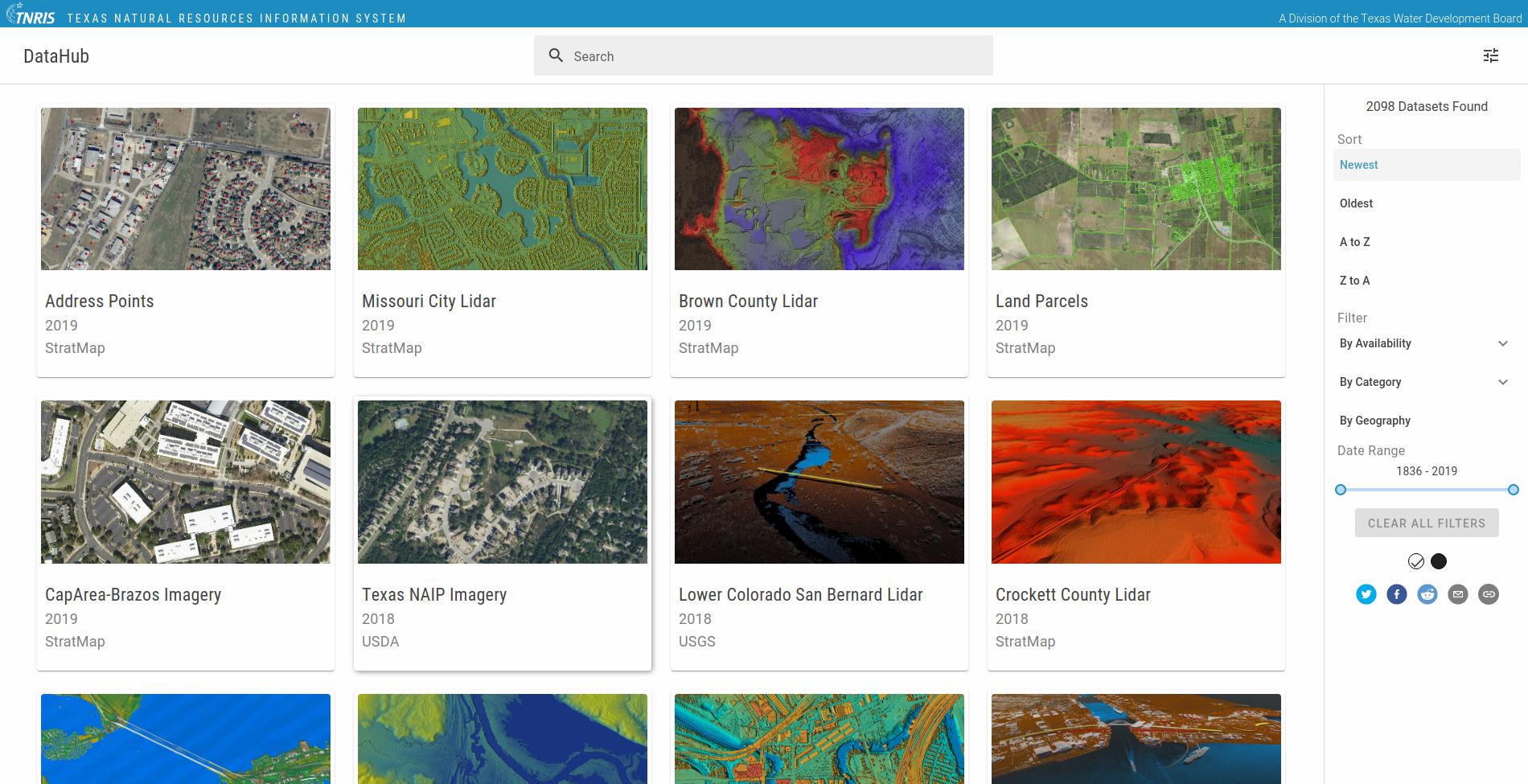 DataHub Screenshot