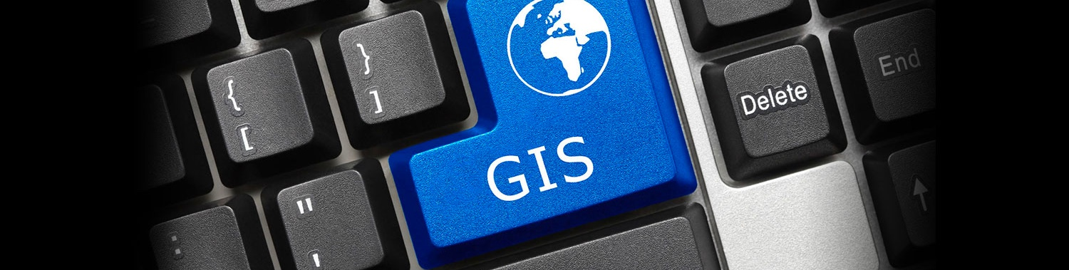 Masthead for Data Center Services (DCS) GIS Solutions Group
