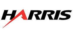 Harris logo and link to website