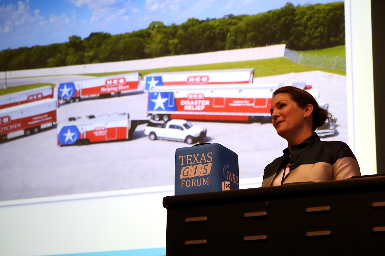 Leslie Sweet speaking