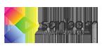 Sanborn logo and link to website