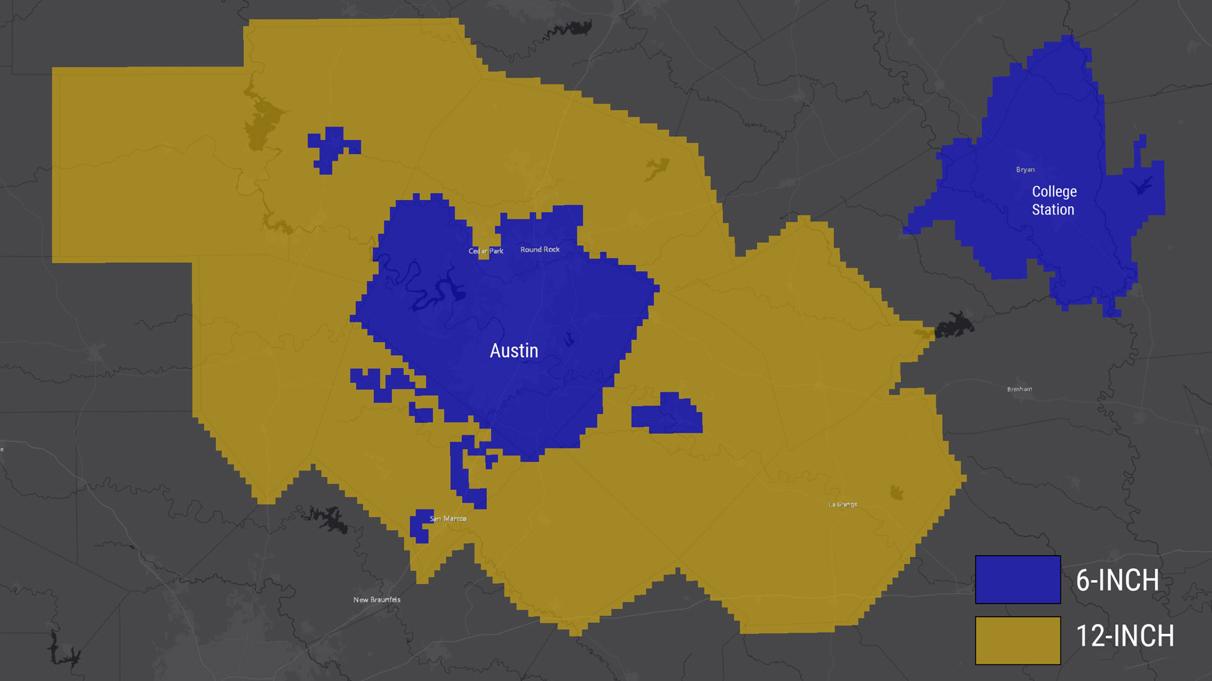 Coverage Map of New Capital Area Imagery