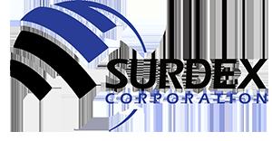 Surdex geospatial logo and link