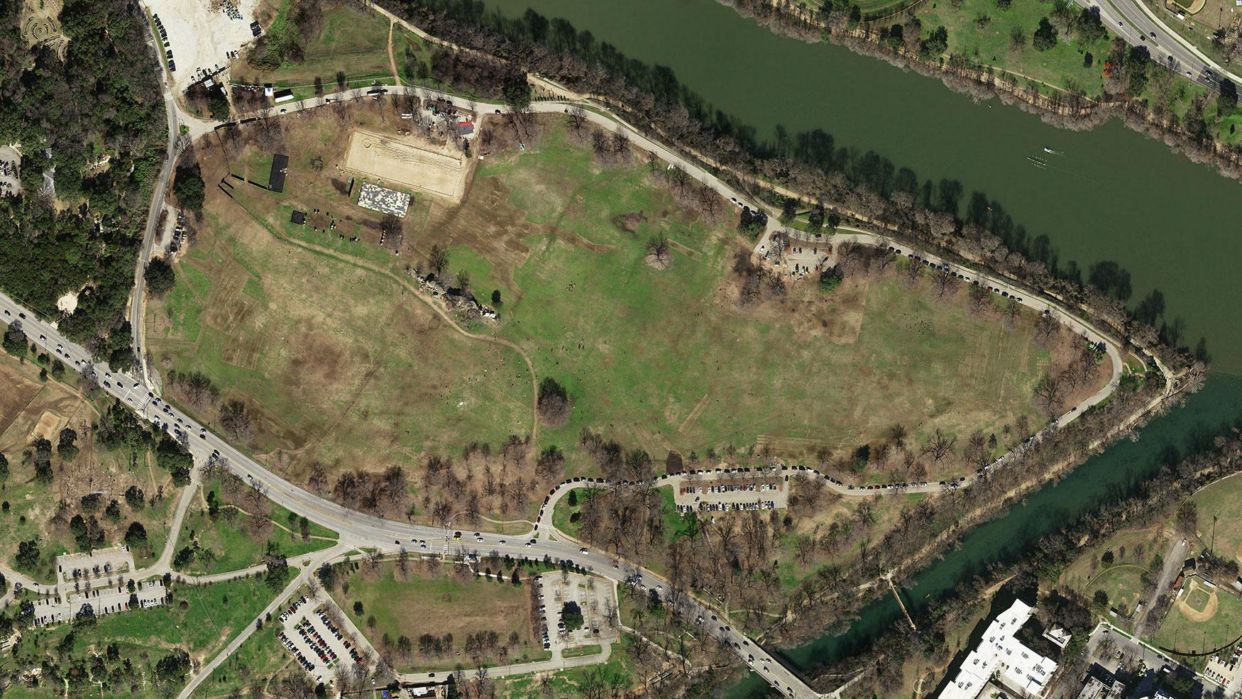 Natural Color preview of Zilker Park